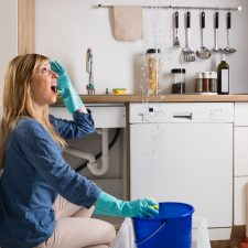 Woman With Leakage Problem needs a San Antonio plumber